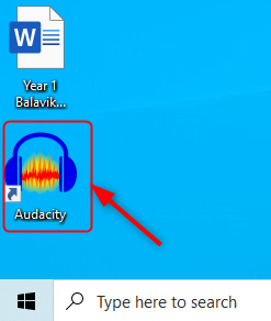 Audacity Open