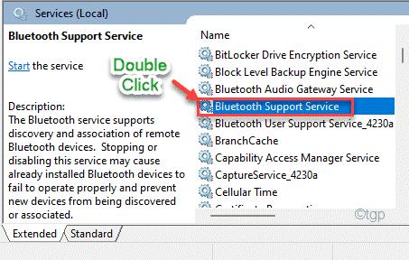 Bluetooth Support Service Min