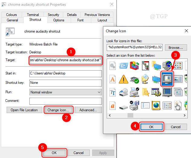 Change Icon Shortcut New