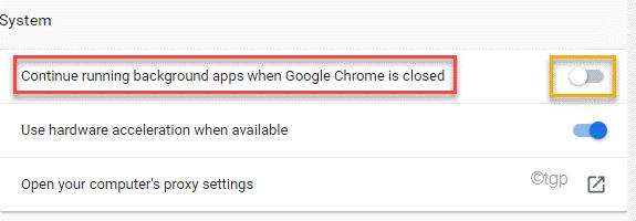 Chrome Not Running Min