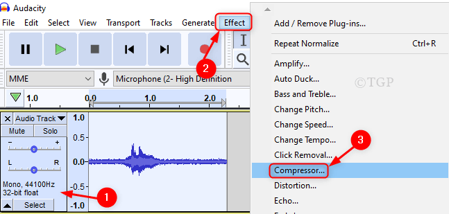 Compressor From Effect Audacity Min