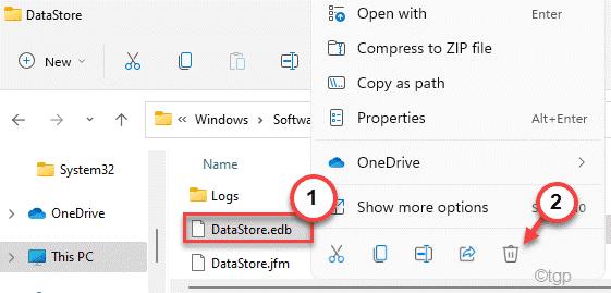 Datastore Edb Delete Min