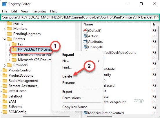 Delete The Printer Min