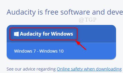 Download Link Audacity New