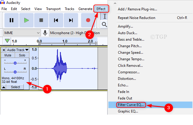 Filter Curve Eq From Effect Audacity Min