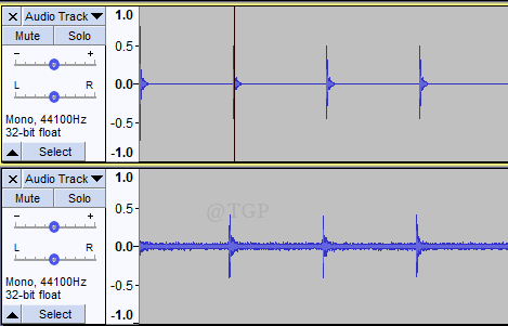 Final Result Latency Audacity