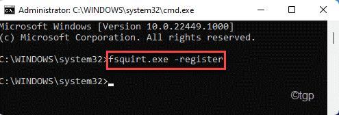 Fsquirt Register Min