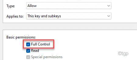 Full Control Min Min