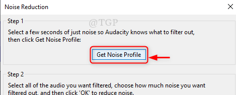 Get Noise Profile New