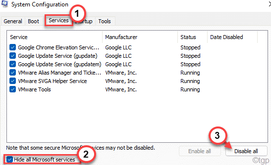 Hide All Disable Min