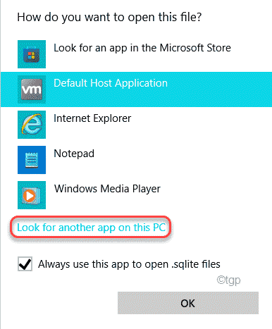 Look For Another App For This Pc Min