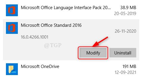 Microsoft Office Modify New