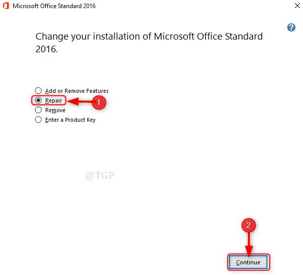 Microsoft Office Repair New