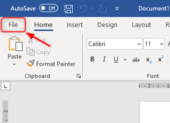 Ms Word Go To File