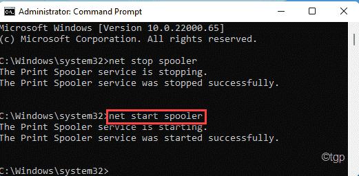 Net Start Spooler Min