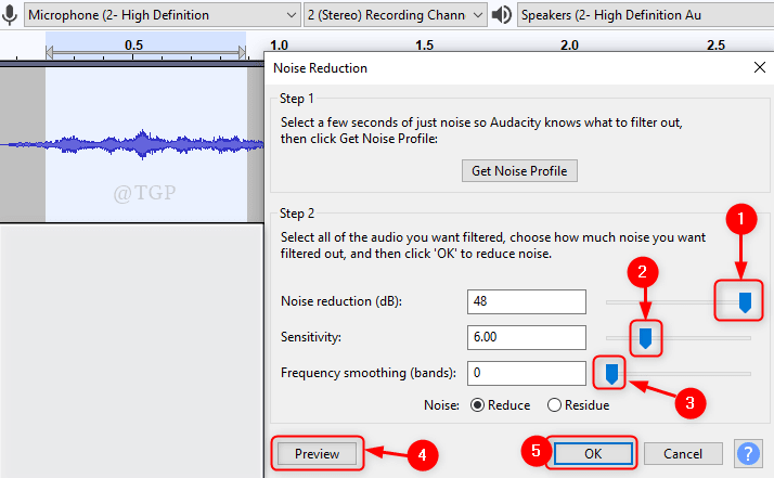 Noise Reduction New Min