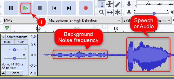 Observe Noise And Audio New
