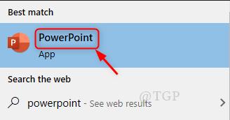 Open Powerpoint
