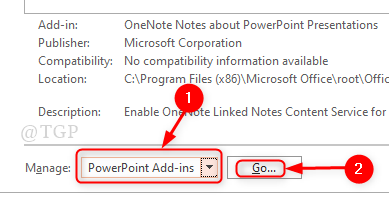 Powerpoint Add Ins Manage List New