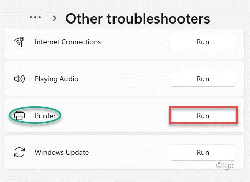 Printer Run Troubleshooter Min