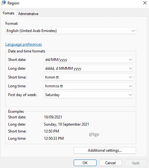 Region Window Optimized
