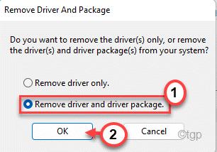 Remove Driver Min