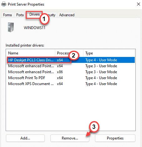 Remove The Printer Min