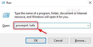 Run Powerpoint Safe Mode New
