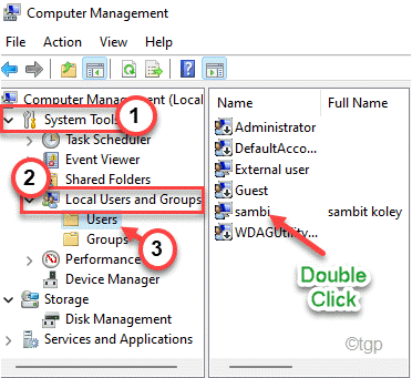 System Tools Users Expand