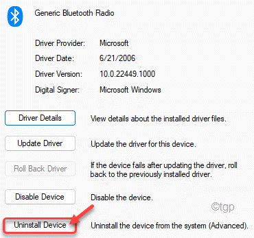 Uninstall Device Min