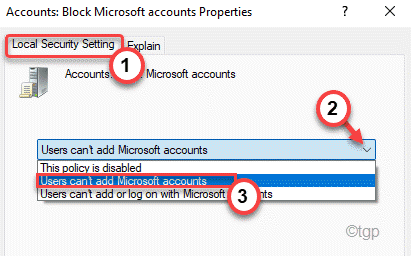 Users Can't Add Microsoft Min