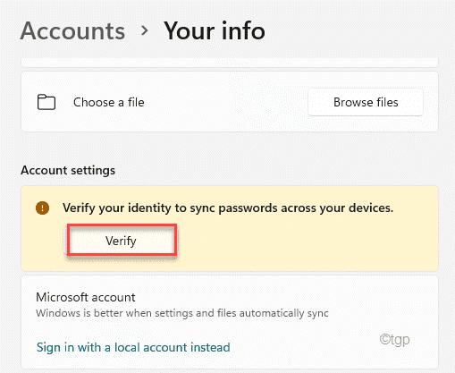 Verify Min