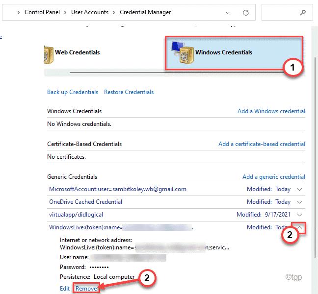 Windows Credential Min