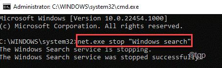 Windows Search Min