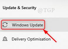 Windows Update Tab New