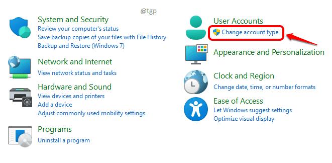 10 Change Account Type Optimized