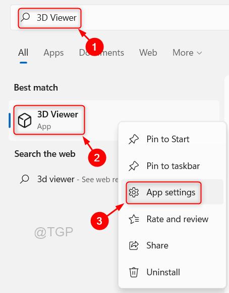 3d Viewer App Settings Win11 Min
