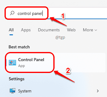9 Search Control Panel Optimized