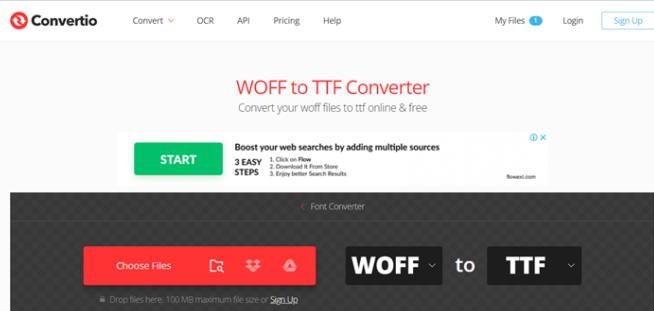 Conertio Website