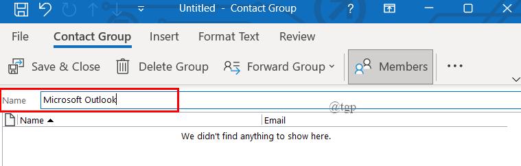 Contact Gp Name