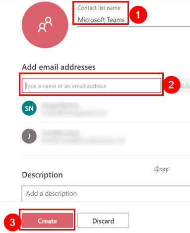 Create Contact List Online Outlook