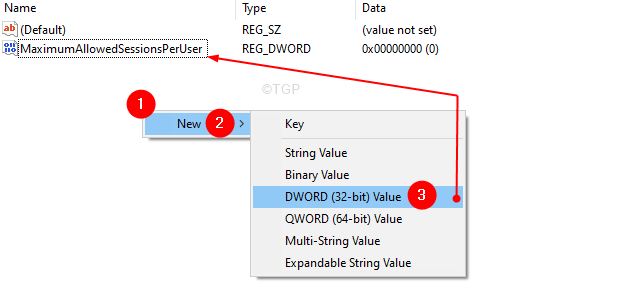 Create A New Dword