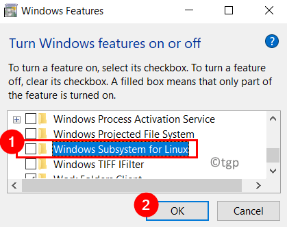 Disable Windows Subsystem For Linux Min