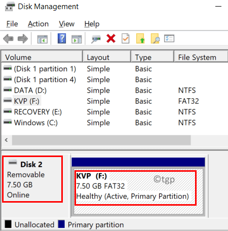 Disk Management Usb Drive Details Min