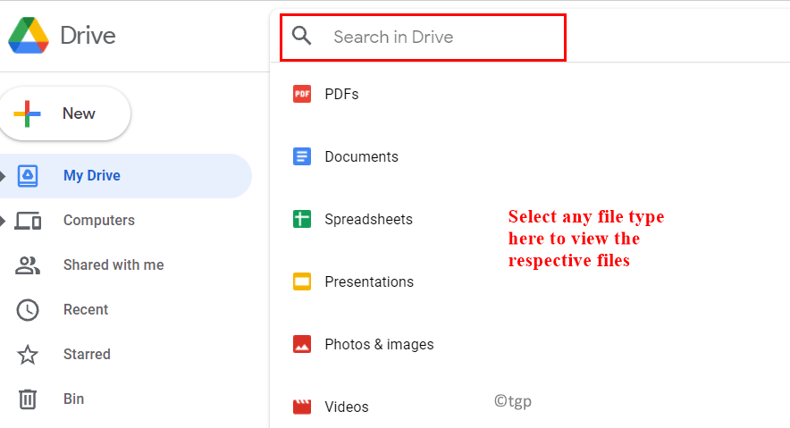 Drive Search For File Types Min