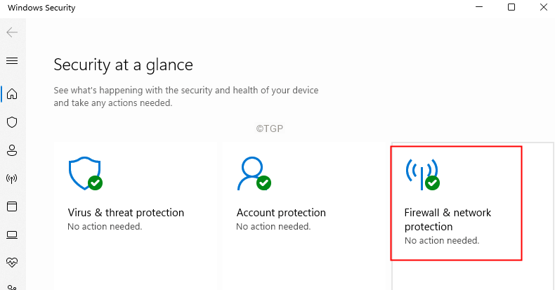 Firewall And Network Protection Tile Min
