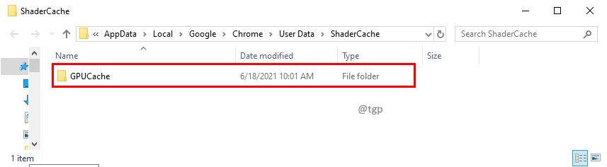 Gpucache Folder Min