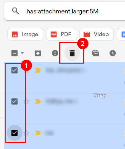 Gmail Filteres Mails Select Delete Min
