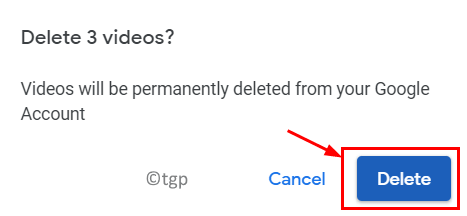 Google Photos Delete Unsupported Videos Confirmation Min