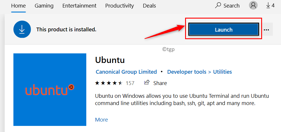 Launch Linux App From Store Min